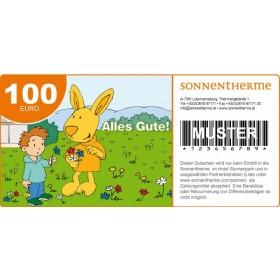 """Wertgutschein """"Alles Gute"""" 100 Euro"""