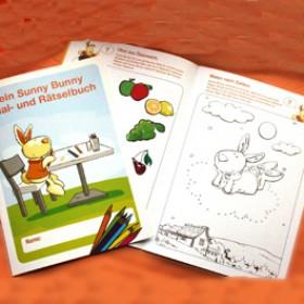 Sunny Bunny Mal- und Rätselheft Teil 4