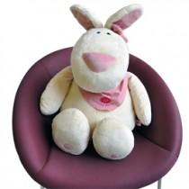 Pinky Bunny Maskottchen XXL