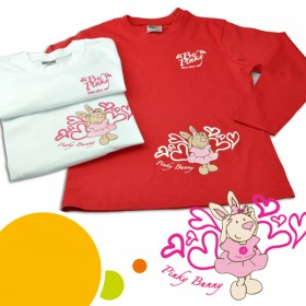 "Abverkauf: Langarm Shirt ""Be Pinky"""