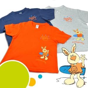 Abverkauf: T-Shirt Beach Boy-grau-122/128