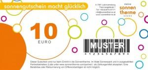 Wertgutschein 10 Euro